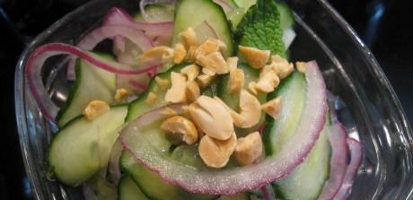 Seasoned Vinegar Cucumber Salad