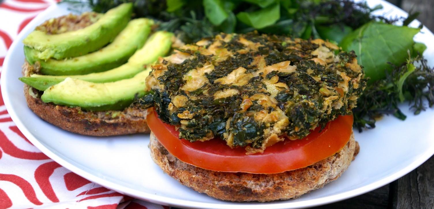 Basic Kale Burger