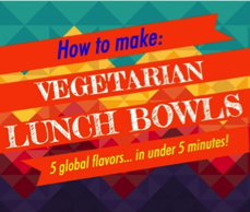 Eat lunch bowls!