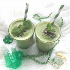superfood shamrock shake