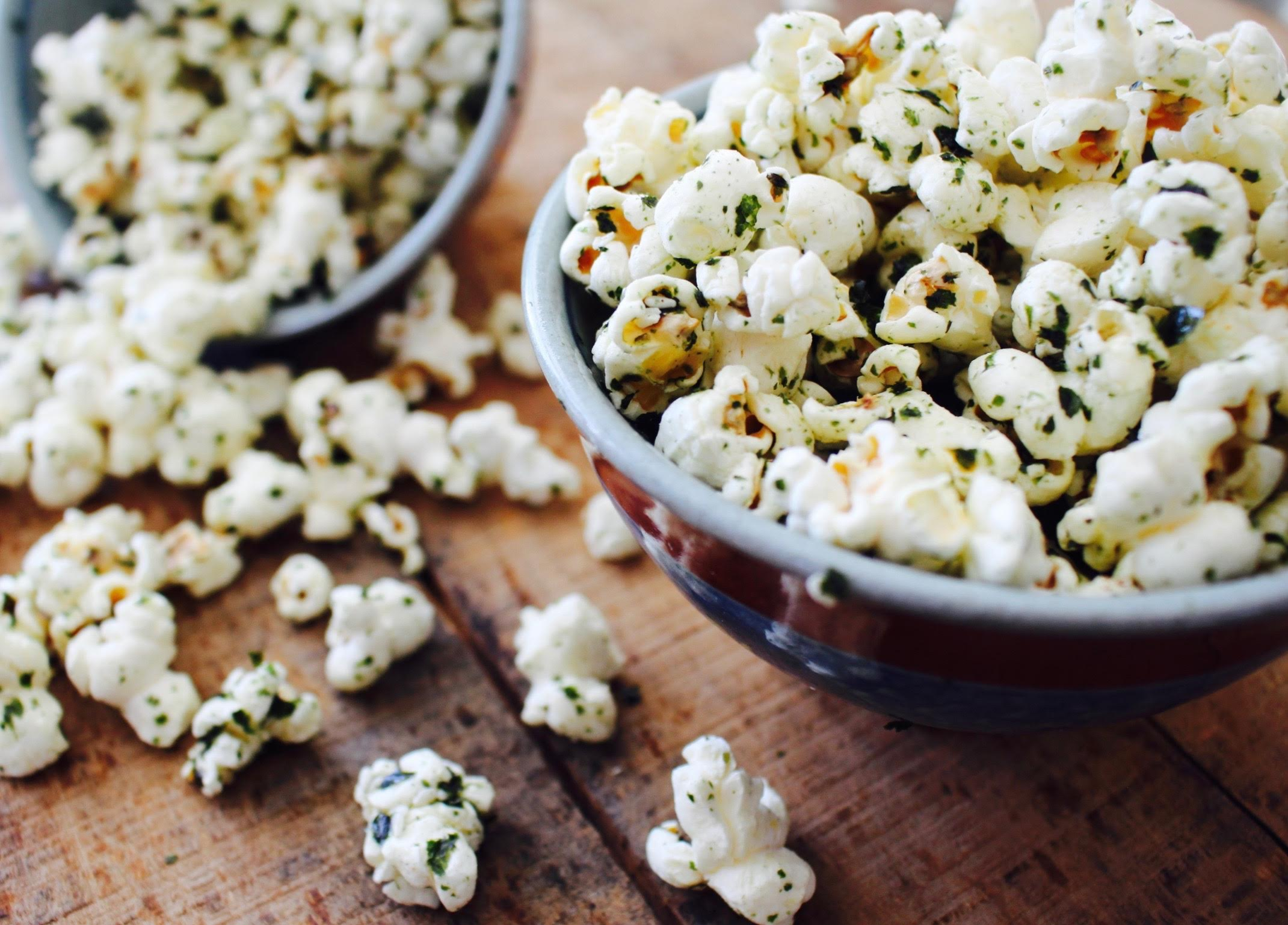 Recipe   Toasted Sesame & Seaweed Popcorn   DJ Blatner