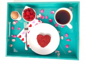 Heart Beet Pancakes