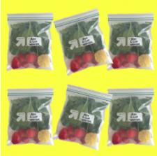 Frozen Green Juice Bags