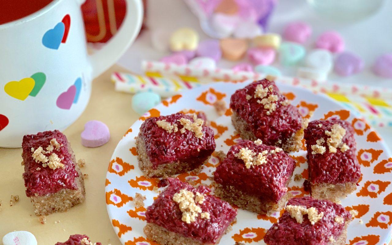 Cookie Bites w/ Raspberry Jam