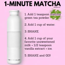 1-Minute Matcha