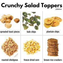 Crunchy Salad Toppers