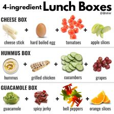 4-Ingredient Lunch Boxes