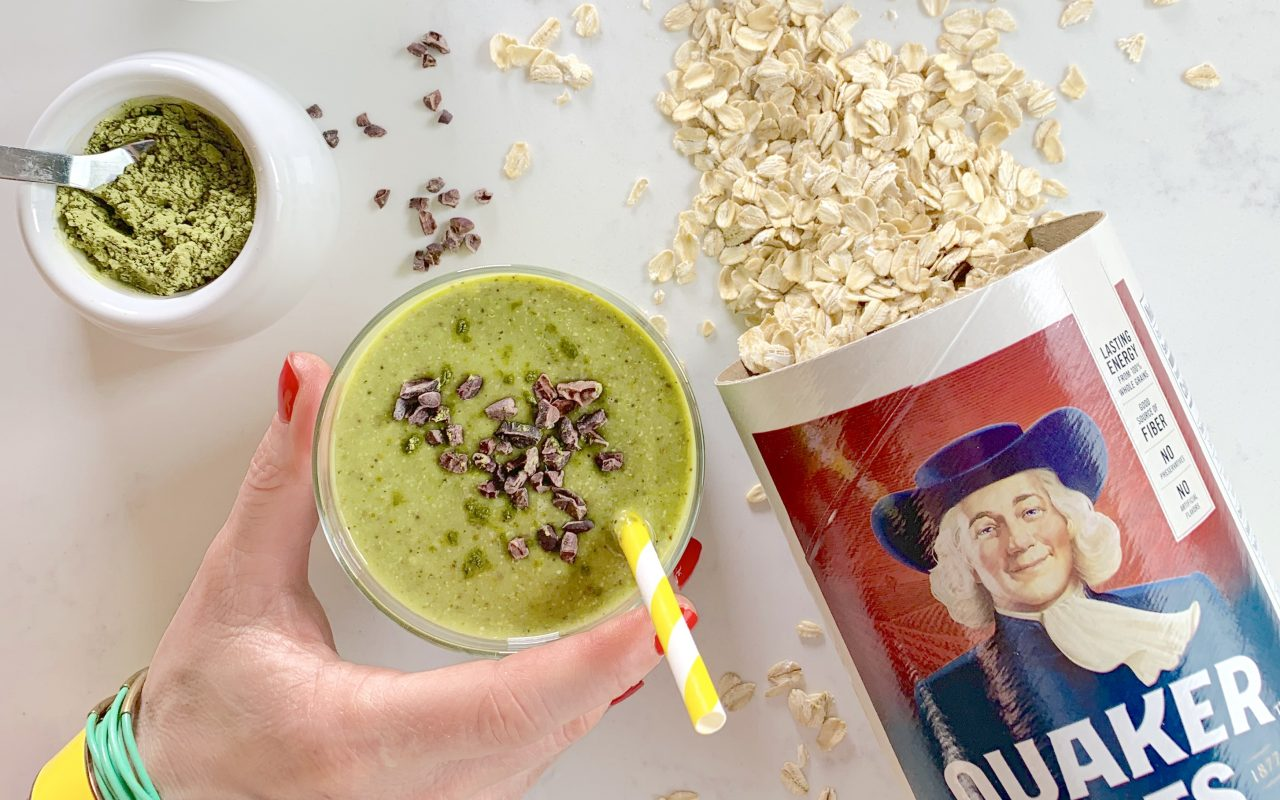 Quaker Matcha Chip Oat Smoothie