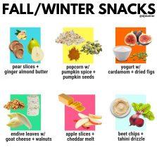 Fall/Winter Snacks