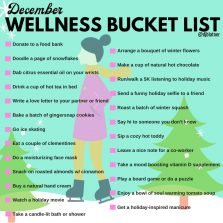 December Wellness Bucket List