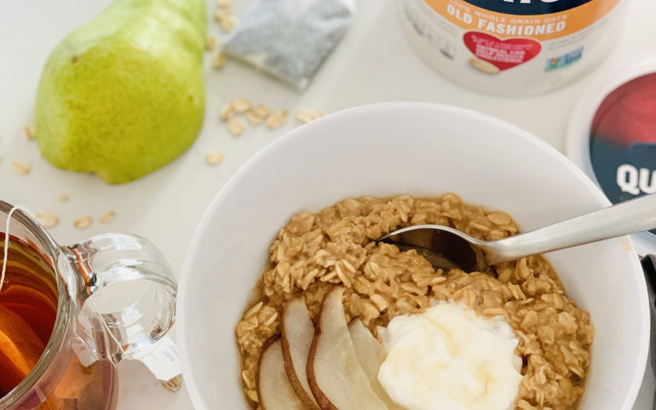 Quaker® Earl Grey Oatmeal Bowl