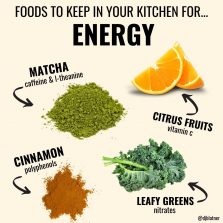 Foods To Keep In Your Kitchen For ENERGY