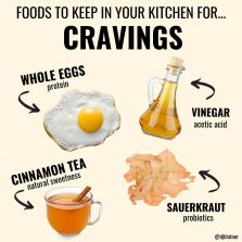 Foods To Keep In Your Kitchen For CRAVINGS
