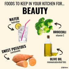 Foods To Keep In Your Kitchen For BEAUTY
