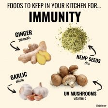 Foods To Keep In Your Kitchen For IMMUNITY