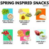 Spring Inspired Snacks