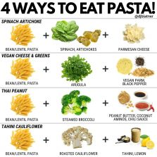 4 Ways To Eat Pasta!