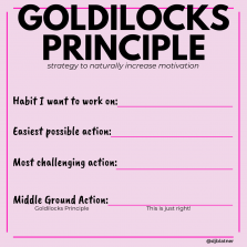 Goldilocks Principle