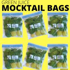 Green Juice Mocktail Bags