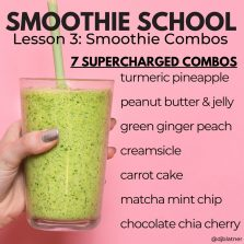 Smoothie School Lesson 3: Smoothie Combos