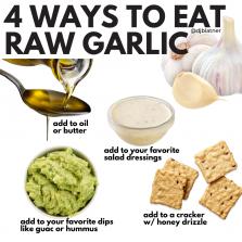 4 Ways To Eat Raw Garlic