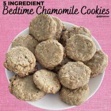 Bedtime Chamomile Cookies