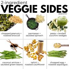 2-Ingredient Veggie Sides