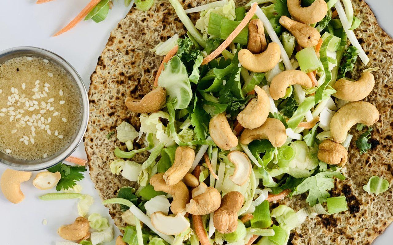 Cashew Crunch Wrap