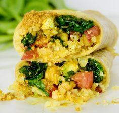 Quick Vegan Curry Burrito