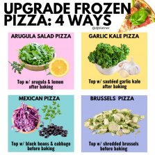 Upgrade Frozen Pizza: 4 Ways!