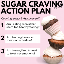 Sugar Craving Action Plan