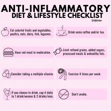 Anti-Inflammatory Checklist