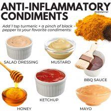 DIY Anti-Inflammatory Condiments