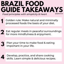 Brazil Food Guide Takeaways