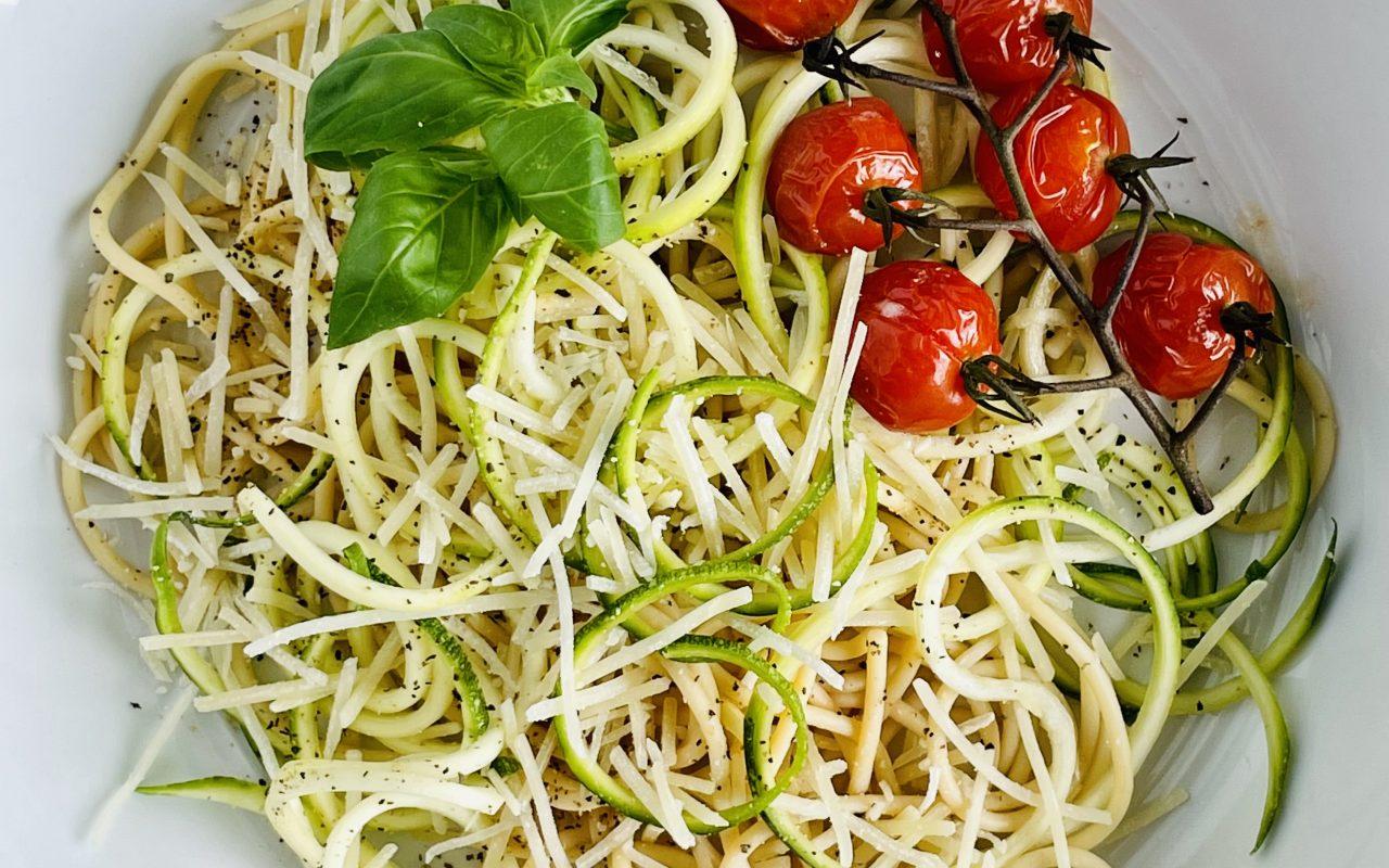 Summer Zucchini Cacio e Pepe