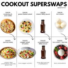 4 COOKOUT SUPERSWAPS
